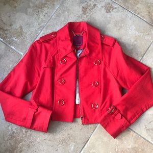 Rare Cropped Ted Baker Mini Trench